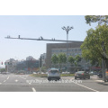 Steel traffic monitoring road cctv camera pole price