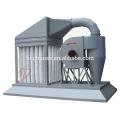 Colector de polvo de madera portátil de la máquina AIO del filtro simple del bolso