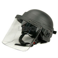 Kevlar bulletproof helmet NIJ IIIA with high strength reinforced PC veil