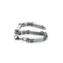 Бесплатный образец водонепроницаемый медицинские браслеты,браслеты из нержавеющей стали застежка браслета