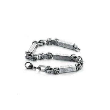Échantillons gratuits bracelets médicaux imperméables, bracelet fermoir en acier inoxydable