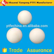 Boule solide en plastique PTFE de 38 mm