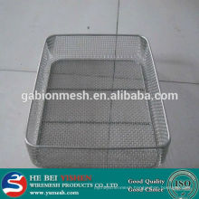 wire mesh basket/wire mesh storage baskets /stainless steel wire mesh baskets
