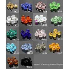 Bunte Pop Artware Kristall Glasperlen