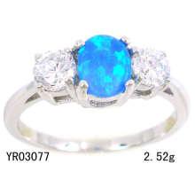 Schmuck-erstellt Opal Ringe (YR03077)