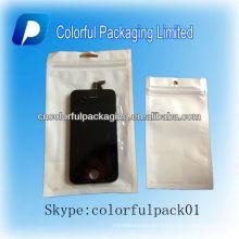Cubierta del teléfono móvil, bolsa de aluminio resellable para mp3 y teléfono móvil y iPod
