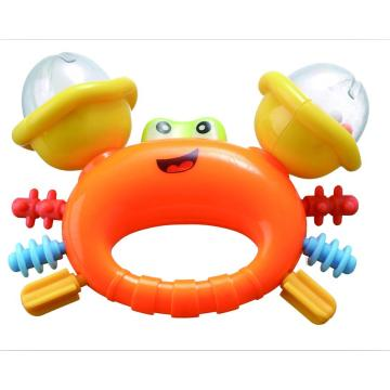 Educational Baby Bell Toy Söt Krabba Rattle