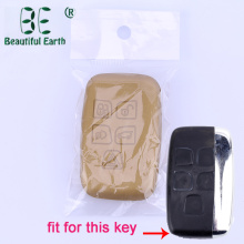 Car Key Cover Fem knappar för Land Rover