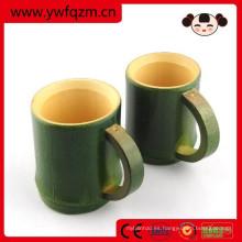 taza china al por mayor de la fibra de bambú de la taza de té