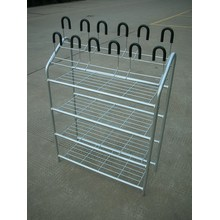 Four Shelves Shoe Rack Electroplating