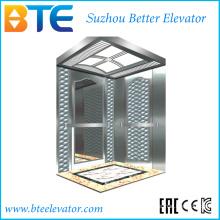 Низкий шум и безопасный пассажирский лифт без машинного отделения