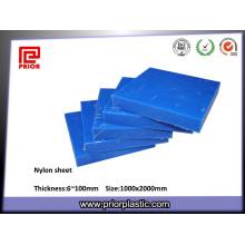 Hoja de nylon de poliamida PA6 de plástico por encargo