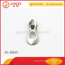 HIgh qualtiy metal zipper slider and puller for bags/garments/jeans