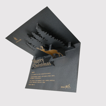 Kad Thanksgiving Paper Fancy Stereoscopic Folding