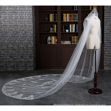 Brand New Cathedral Length 3 Meter Ivory Wedding Veil with Comb