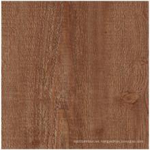 Piso de madera de lujo del PVC para el hogar