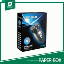 Boîte d'emballage électrique râpée de rasoir / rasoir imprimée