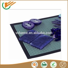 High temperature resistant Teflon wire mesh mat for BBQ, Non stick, easy to clean, manufacturer