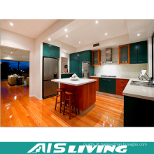 Mobília de madeira modular dos armários de cozinha do estilo de India (AIS-K369)