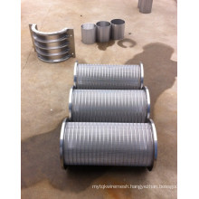 Wedge Wire Support Tubes with Round Profile