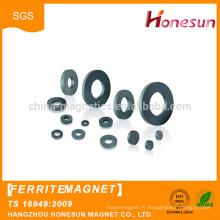 Good quality strong rings ceramic ferrite magnets custom for sale