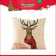 High Custom decrorative christmas pillow toys from china factory wholesale price