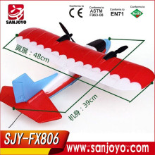 Fly training beginners rc airplane 2.4CHZ Durable EPP rc glider Electric rc Airplane SJY-FX806