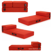 Factory directly sale for Outdoor Daybed Cushions, Cheap Outdoor Patio Daybed, Metal Daybed Manufacturer in China Folding Foam Sleeper Floor Trix Sofa Bed export to South Korea Factories