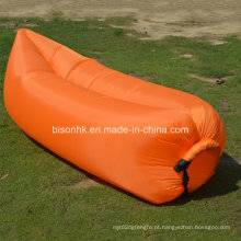 Laybag Air Lounge inflável, portátil Soft Air Sleeping equipamentos de pesca Sleeping Air Lounge