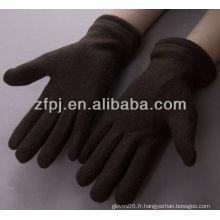 Gant d'hiver en laine de poignet élastique pour homme en gros