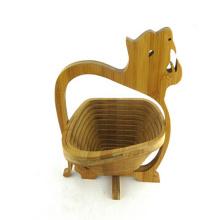 Завод прямые дешевые ткачество бамбук корзина