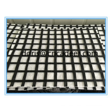 Fiberglass Geogrid 50kn Composite with PP/Pet Non-Woven Geotextile