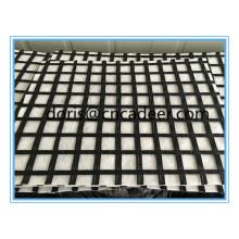 Composto de Geogrid 50kn da fibra de vidro com o geotêxtil não tecido dos PP / animal de estimação