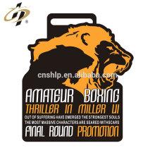 Wettbewerb eigene Design Zink-Legierung Boxen Sport Medaillen