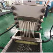 Pe Pp Hips Abs Plastic Granules Making Machine plastic granulation extruder high capacity granulator