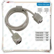 VGA Monitor Cable EXTENSION M / F para Monitor LCD 1.5METER