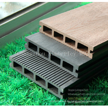 Zusammengesetzter Decking-Fußboden WPC im Freien
