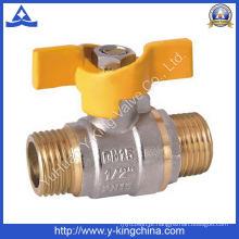 Válvula de água de latão usada em água (YD-1012)