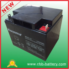Batería de AGM del plomo ácido de 12V 42ah para la iluminación de emergencia