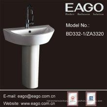 Bacia cerâmica do suporte do banheiro de EAGO