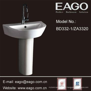 EAGO Céramique Piédestal Lavabo