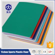 Yichen confortável piso de esportes de pvc interior para salão de ténis de mesa