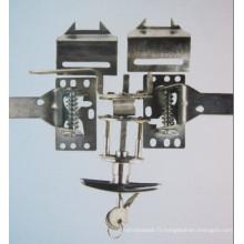 Serrure de porte Cross Carbarn, serrure de porte industrielle (CD-001B)