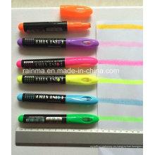 Colorido marcador de resaltador sólido