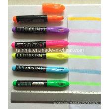 Marcador de marca-texto sólido colorido