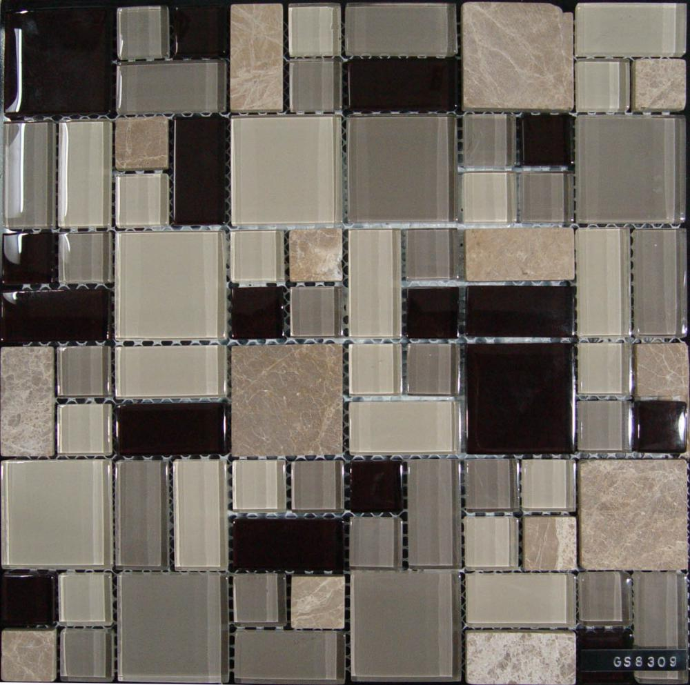 Customize Glass Stone Mixed Mosaic