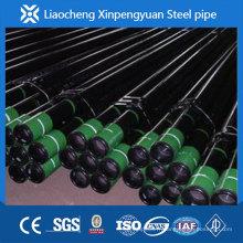 Tuyau en acier avec accouplement, tuyau d'huile, K55 / J55 / N80 / P110, fabricant,