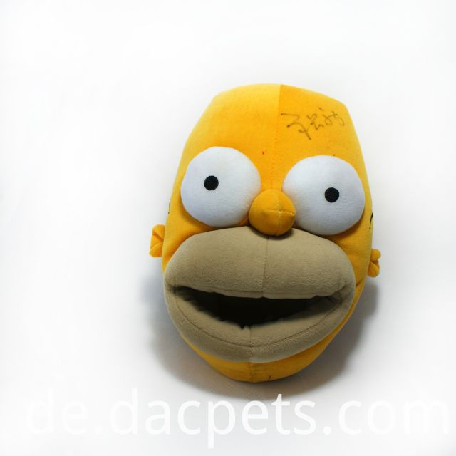 plush simpson slipper