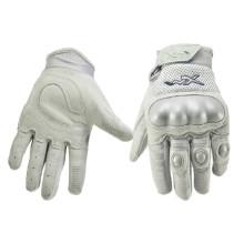 Beheizte Dämonen Leder Motorrad Handschuhe mit Controller (DL002)