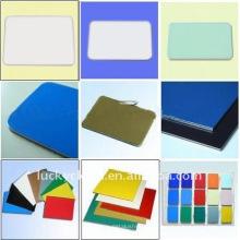Revestimento composto PE ou PVDF Painel ACM de alumínio ACM
